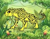Dibujo Un leopardo pintado por JuanMar3