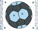 Dibujo Pelota de fútbol II pintado por franchi