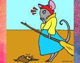 Dibujo La ratita presumida 2 pintado por meibol
