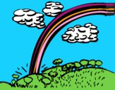 Dibujo Arco Iris pintado por LunaLunita