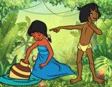 El libro de la Selva - Mowgli y Shanti