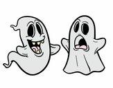 Dibujo Fantasmas pintado por Valepxndx