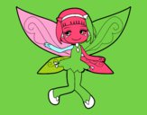 Dibujo Hada voladora pintado por Noe78