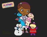 La doctora juguetes y sus amigos