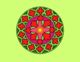Dibujo Mandala 21 pintado por LunaLunita