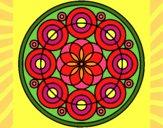 Dibujo Mandala 35 pintado por LunaLunita