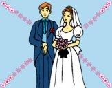 Dibujo Marido y mujer III pintado por LunaLunita