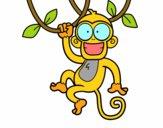 Mono colgado