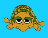 Dibujo Tortuga 3 pintado por LunaLunita