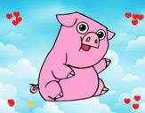 Un cerdo