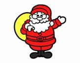 Dibujo Un Papá Noel pintado por MAVEAR