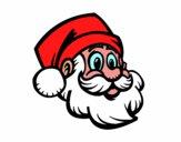 Un Rostro de Papá Noel