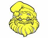 Una cara de Papá Noel