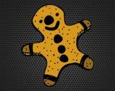 Una galleta de jengibre