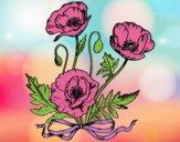 Dibujo Unas amapolas pintado por hasiel