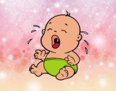 Bebé llorando 1