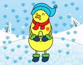 Muñeco de Nieve con arbolito