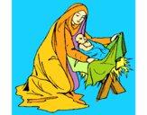 Nacimiento del niño Jesús