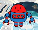 Dibujo Robot con pinzas pintado por dulceth_07