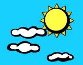 Sol y nubes 2