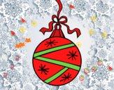 Una bola de Navidad