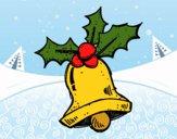 Una campana de Navidad