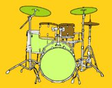 Batería de percusión