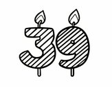 39 años