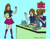 Barbie en el laboratio
