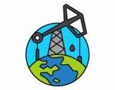 Extractor de petróleo