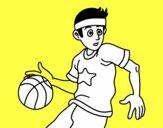 Jugador de básquet junior