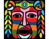 Máscara Maya