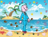 Niño con traje