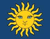 Dibujo Sol pintado por abruma27
