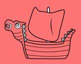 Drakken, barco vikingo