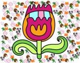Tulipán doble