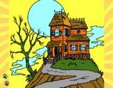 Dibujo Casa encantada pintado por cecil13