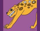 Dibujo Estatua Jaguar pintado por teuQihcoX