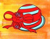 Dibujo Sombrero clásico pintado por paolitaa