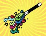 Dibujo Varita de mago pintado por oprah