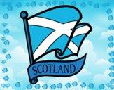 Dibujo Bandera de Escocia pintado por plat28