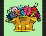 Cesta de flores 7