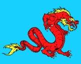 Dragón caminando