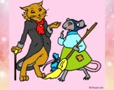 Dibujo La ratita presumida 15 pintado por NucaBoira4