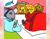 Dibujo La ratita presumida 19 pintado por NucaBoira4