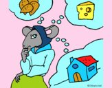 Dibujo La ratita presumida 4 pintado por NucaBoira4