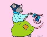 Dibujo La ratita presumida 7 pintado por NucaBoira4