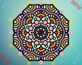 Mandala flor conceptual