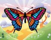 Dibujo Mariposa gran mormón pintado por cecil13