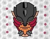 Dibujo Máscara de supervillano pintado por yoanna3012